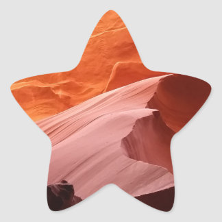 Garganta do antílope adesivo estrela