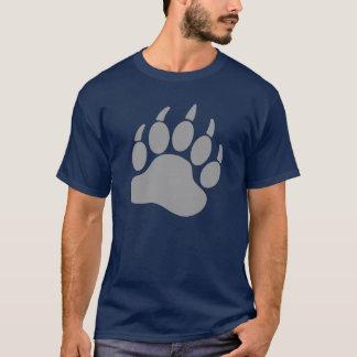 Garra de urso cinzenta do orgulho do urso (R) Camiseta
