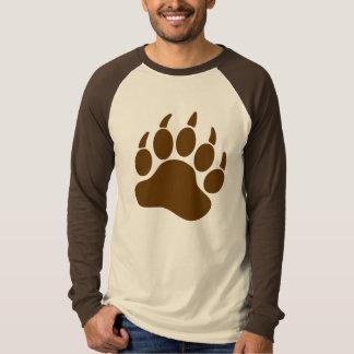 Garra de urso do orgulho do urso de Brown (R) Camiseta
