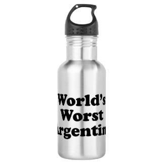 Garrafa A Argentina a mais má do mundo