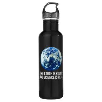 Garrafa A terra é circularmente e a ciência é - - Pro-Sci