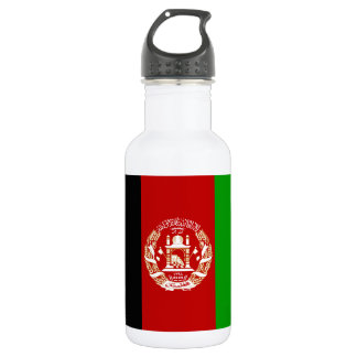 Garrafa Bandeira afegã patriótica