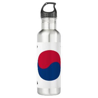 Garrafa Bandeira de Coreia do Sul