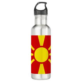 Garrafa Bandeira de Macedónia