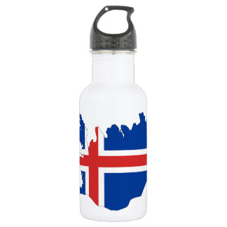 Garrafa Bandeira de país de Islândia