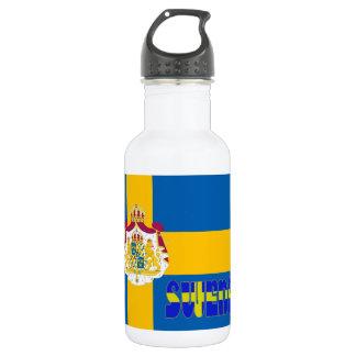 Garrafa Bandeira sueco