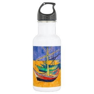 Garrafa Barcos do impressionista de Van Gogh