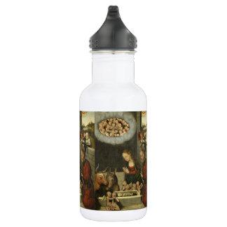 Garrafa Bebê adorador Jesus dos pastores por Cranach