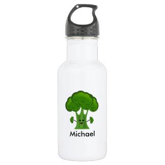 Garrafa Brócolos verdes personalizados