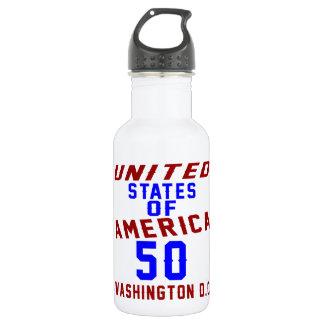 Garrafa C.C. de Washington dos Estados Unidos da América