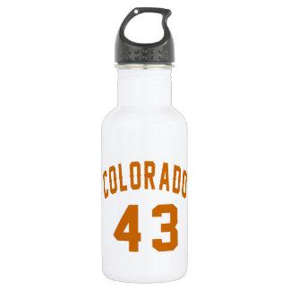 Garrafa Colorado 43 designs do aniversário