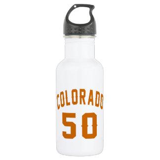 Garrafa Colorado 50 designs do aniversário