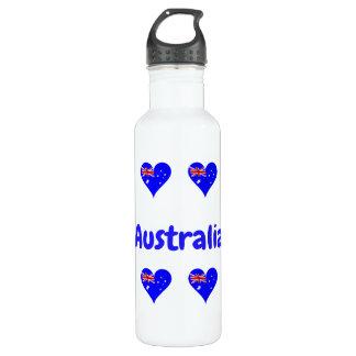 Garrafa Corações australianos
