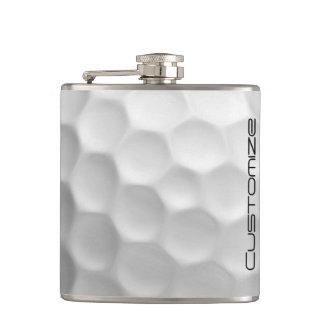 Garrafa da bola de golfe com nome personalizado cantil