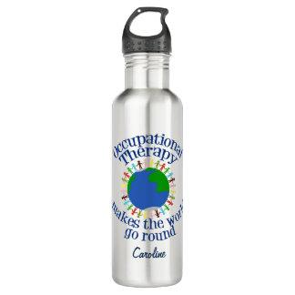 Garrafa D'água A terapia ocupacional faz o mundo ir circularmente