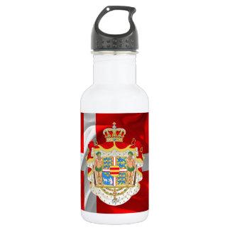 Garrafa D'água Bandeira-Casaco dinamarquês dos braços