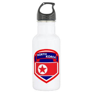Garrafa D'água Bandeira da Coreia do Norte