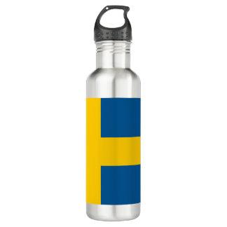 Garrafa D'água Bandeira da suecia