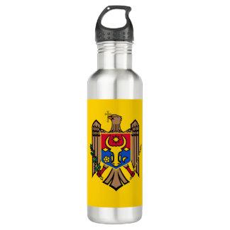 Garrafa D'água Bandeira de Moldova