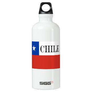 Garrafa D'água Bandeira do Chile