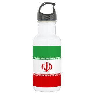 Garrafa D'água Bandeira nacional do mundo de Irã