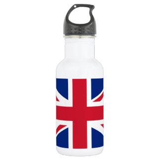 Garrafa D'água Bandeira nacional do mundo de Reino Unido
