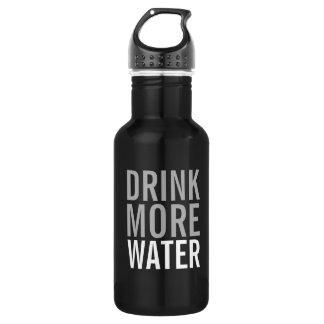 Garrafa D'água Beba mais minimalista simples da água  