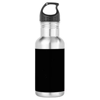 Garrafa D'água Branco preto vermelho do Fractal