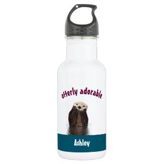 Garrafa D'água Chalaça adorável de Otterly com a foto bonito da