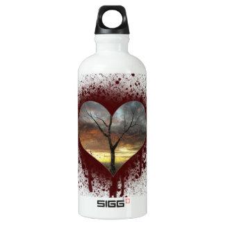 Garrafa D'água Cofre forte a árvore de coração de sangramento da