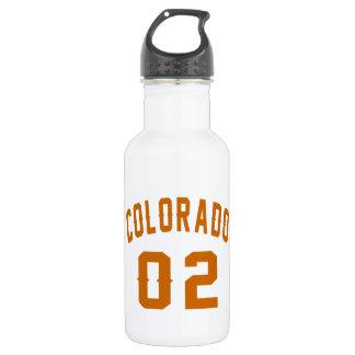 Garrafa D'água Colorado 02 designs do aniversário