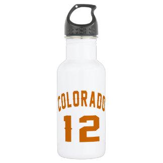 Garrafa D'água Colorado 12 designs do aniversário