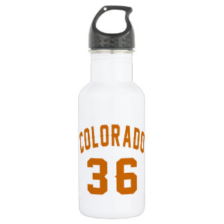 Garrafa D'água Colorado 36 designs do aniversário