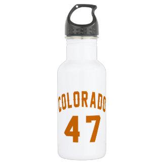 Garrafa D'água Colorado 47 designs do aniversário