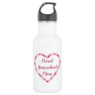 Garrafa D'água Corações bonito para uma mamã orgulhosa de