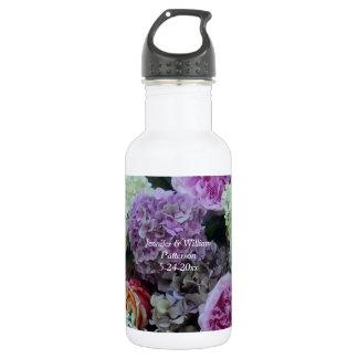 Garrafa D'água Costume do favor da peônia do Hydrangea da flor do