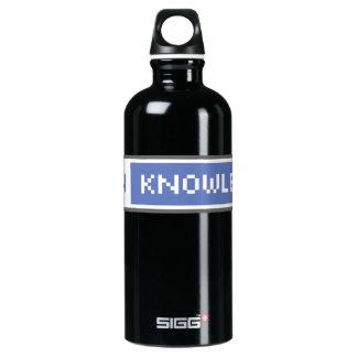 Garrafa D'água De Alumínio Abra o conhecimento