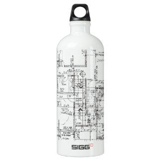 Garrafa D'água De Alumínio Arquitetos tudo!