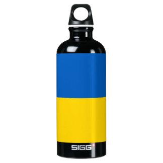 Garrafa D'água De Alumínio Bandeira de Ucrânia