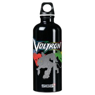 Garrafa D'água De Alumínio Carregamento dos leões de Voltron  