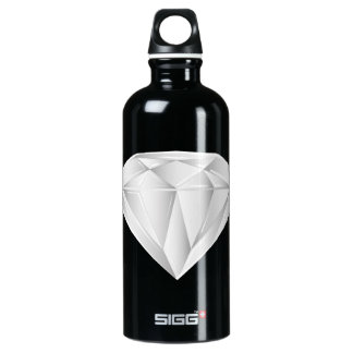 Garrafa D'água De Alumínio Diamante branco para meu querido