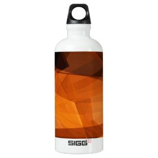 Garrafa D'água De Alumínio Fundo abstrato da laranja para o design como o