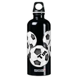 Garrafa D'água De Alumínio Futebol