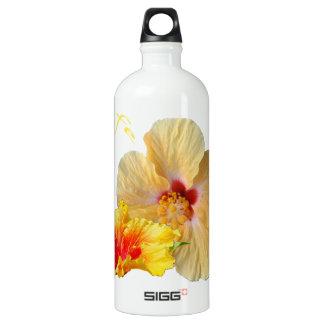 Garrafa D'água De Alumínio HIBISCUS do ☼, flor do ☼ da paixão