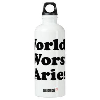 Garrafa D'água De Alumínio O Aries o mais mau do mundo