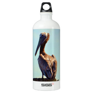 Garrafa D'água De Alumínio Pelicano de Louisiana