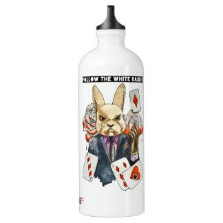 Garrafa D'água De Alumínio siga o coelho branco
