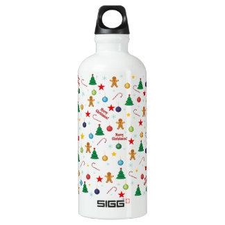 Garrafa D'água De Alumínio Teste padrão do Natal