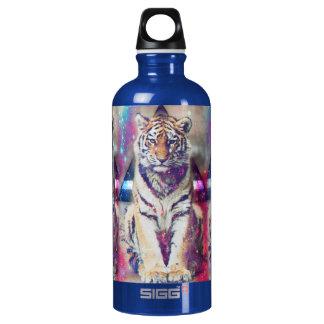 Garrafa D'água De Alumínio Tigre do hipster - arte do tigre - tigre do