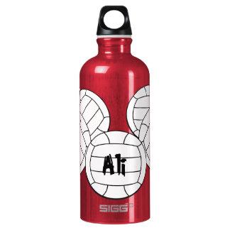 Garrafa D'água De Alumínio Voleibol